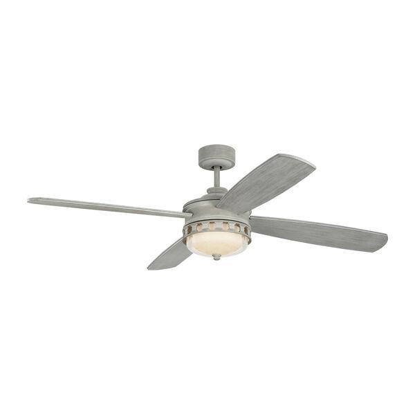 Lemont Washed Grey 56-Inch DC Motor LED Ceiling Fan, image 1