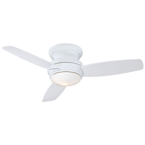 Traditional Concept White 44-Inch Outdoor LED Ceiling Fan, image 3