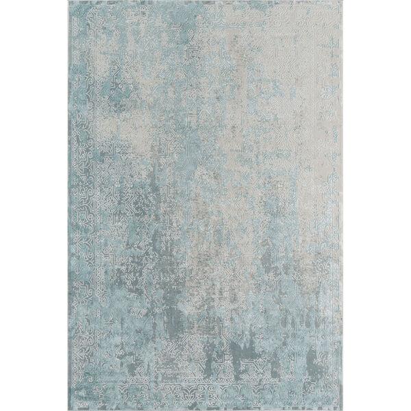Genevieve Light Blue Rectangular: 1 Ft. 10 In. x 2 Ft. 10 In. Rug, image 1
