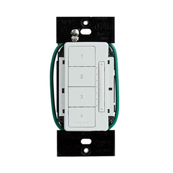 White RF Scene Controller, image 1
