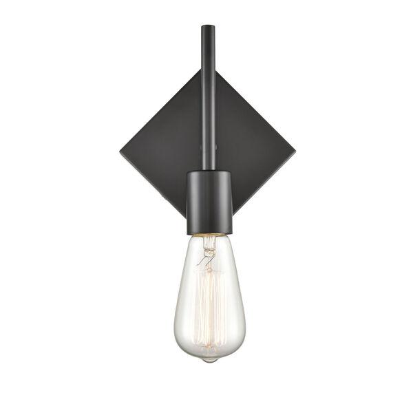 Mia Matte Black Six-Inch LED Wall Sconce, image 4