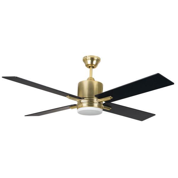 Teana Satin Brass 52-Inch Ceiling Fan, image 1