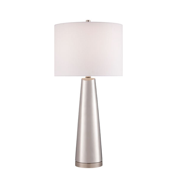Tyrone Silver One-Light Table Lamp, image 1
