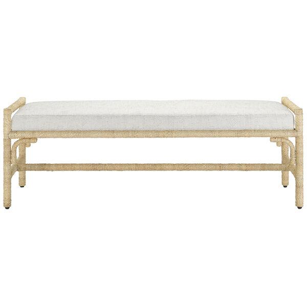 Olisa Pearl and Natural Bench, image 2