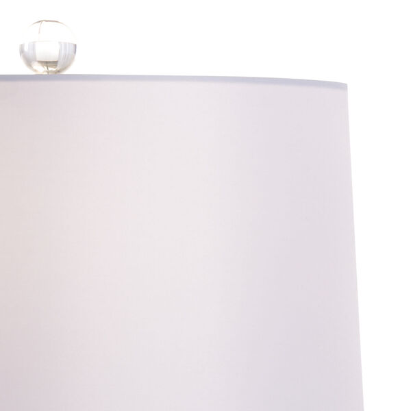 Classic Blue Glaze and White One-Light Table Lamp, image 3