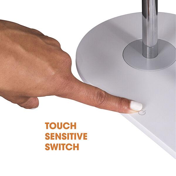 White Wireless Charging LED Makeup Mirror, image 5