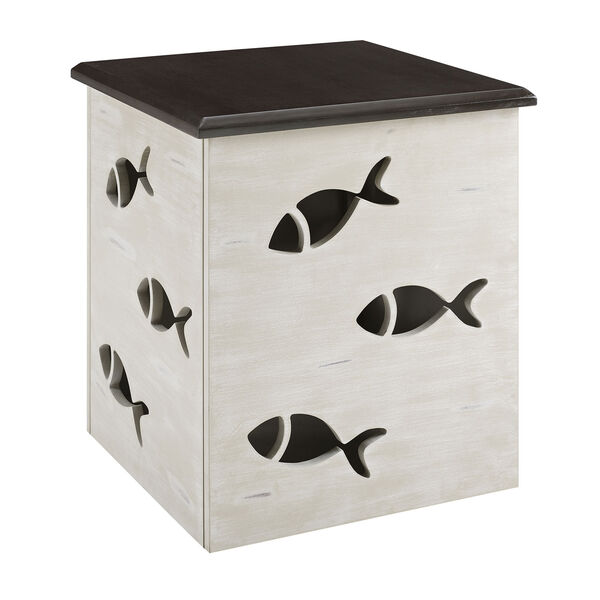 Camila Cream Square Fish Table, image 2
