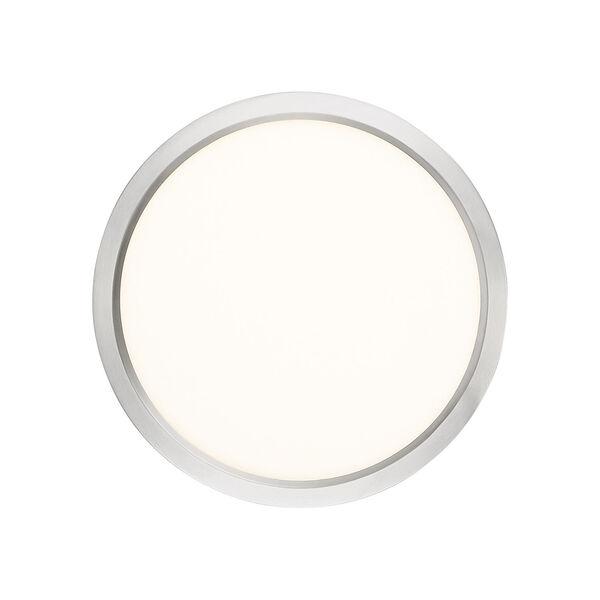 Outskirt Brushed Nickel 11-Inch LED Flush Mount, image 5