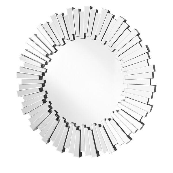 Sparkle Glass 39-Inch Round Mirror, image 1
