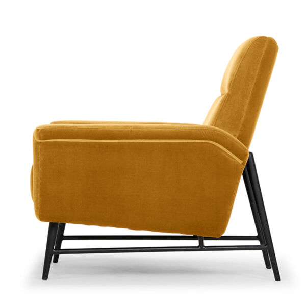 Mathise Mustard and Black Occasional Chair, image 3