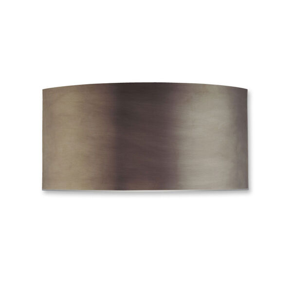Dianelli Shield Rubbed Bronze Two-Light Wall Sconce, image 1