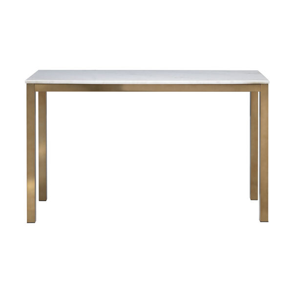 Gold Marble Top Console Table, image 2