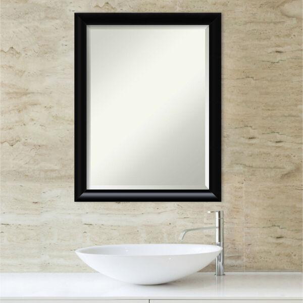 Steinway Black 21W X 27H-Inch Bathroom Vanity Wall Mirror, image 5