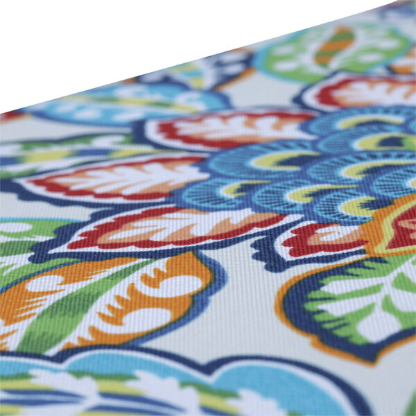 Copeland Blue Green Multicolor Large Chairpad, Set of Two, image 4