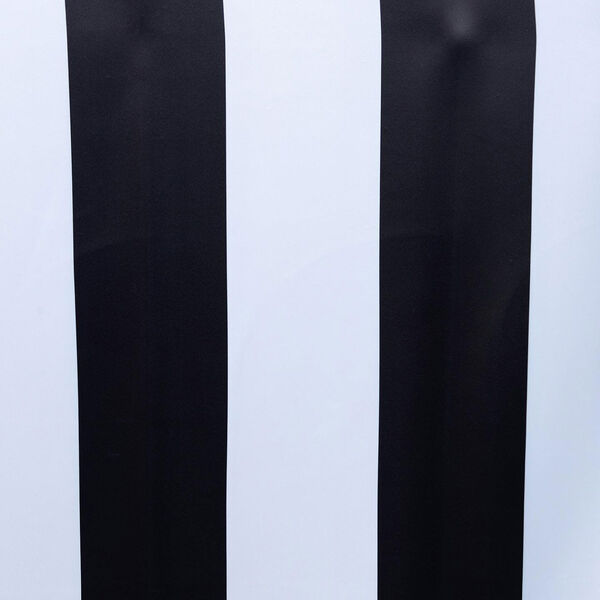Awning Black and White Stripe 108 x 50-Inch Blackout Curtain Single Panel, image 6
