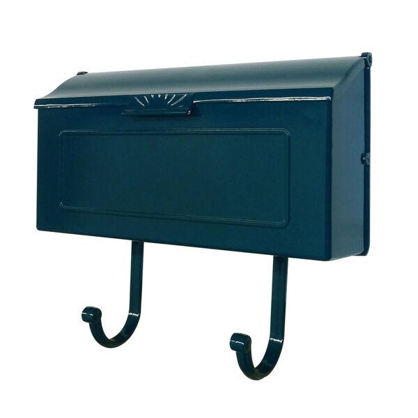 Nash Blue Horizontal Mailbox, image 2