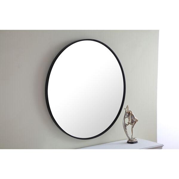 Eternity Black Round 32-Inch Mirror, image 6