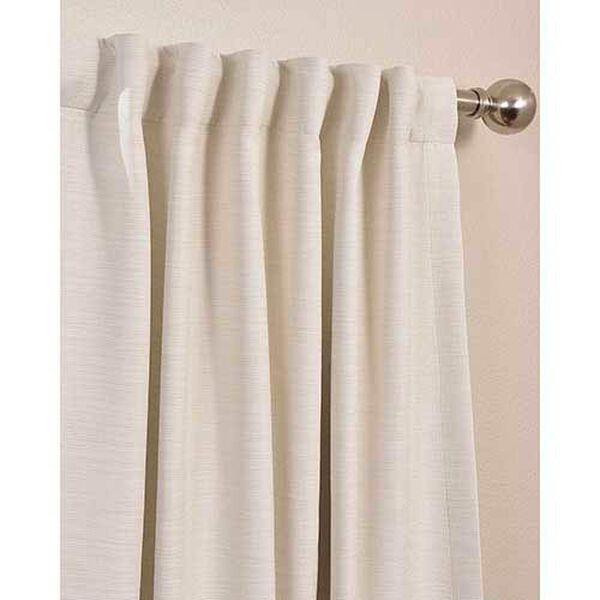 Cottage White 63 x 50-Inch Bellino Blackout Curtain Single Panel, image 3