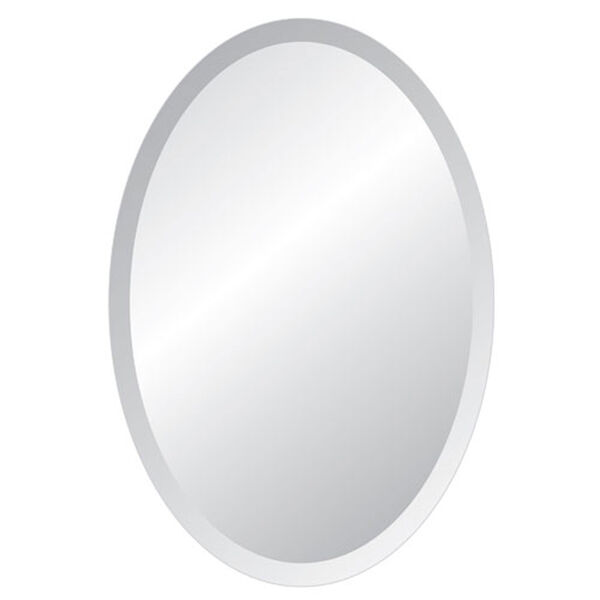 Grace 24 x 36 Oval Beveled Edge Mirror, image 1