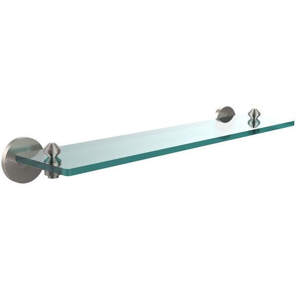 Satin Nickel 22-Inch Single Shelf, image 1