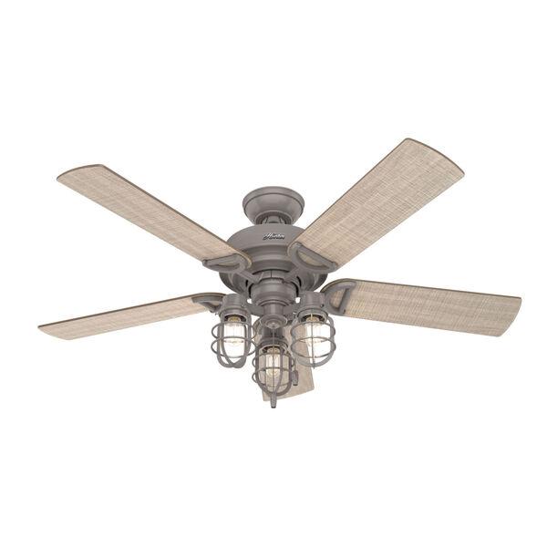 Starklake Quartz Grey 52-Inch Outdoor LED Ceiling Fan, image 1