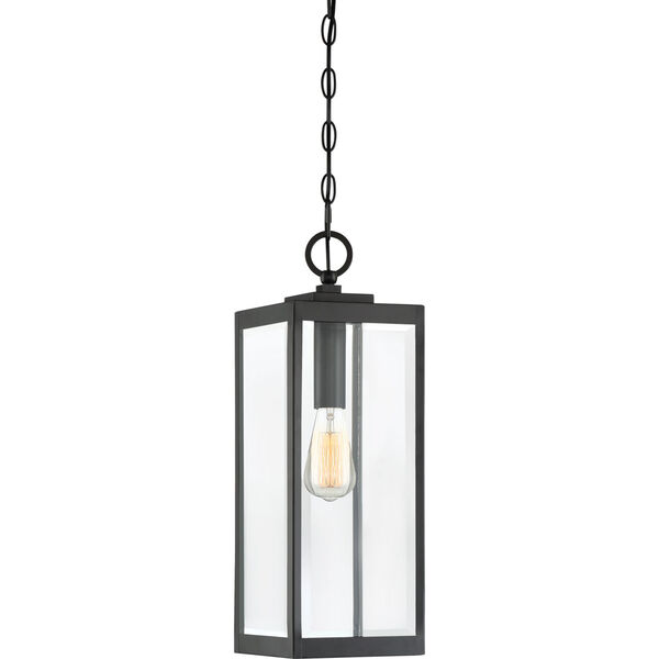 Westover Earth Black One-Light Outdoor Pendant, image 1