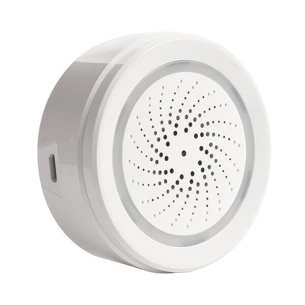 Black and White Smart Wi-Fi Indoor Garage Security Kit, image 2