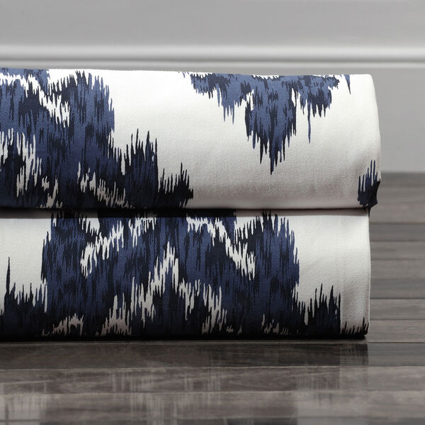 Ikat Multi 50 x 108-Inch Printed Curtain, image 7