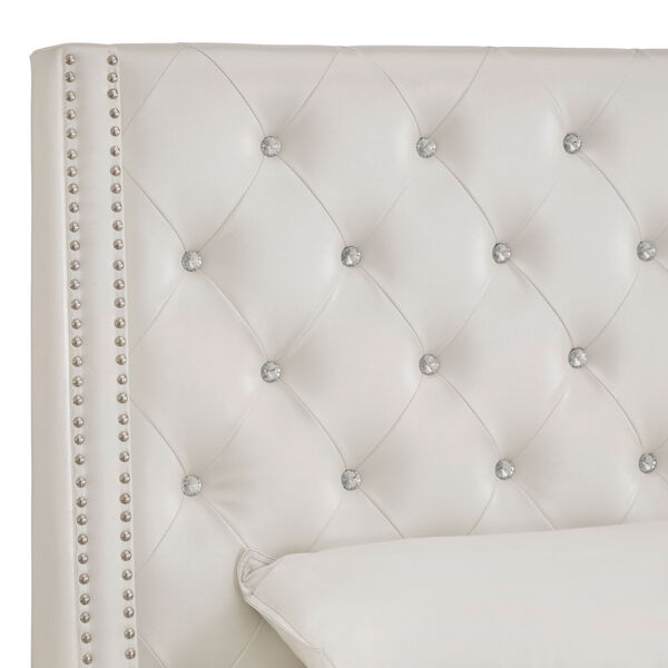 Sotello Crystal Tufted Full Bed, image 4