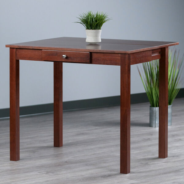 Perrone Walnut High Table with Drop Leaf, image 3