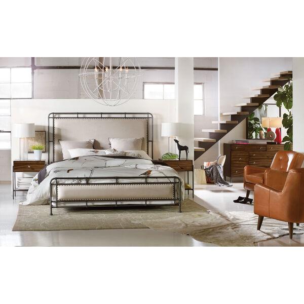 Studio 7H Slumber King Metal Upholstered Bed, image 2