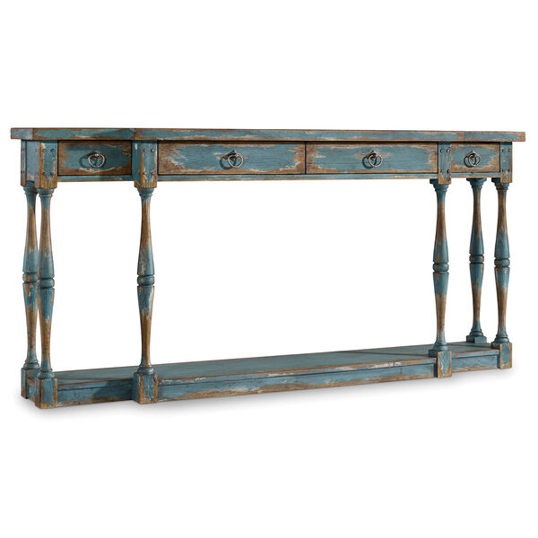 Sanctuary Four-Drawer Thin Console, image 1