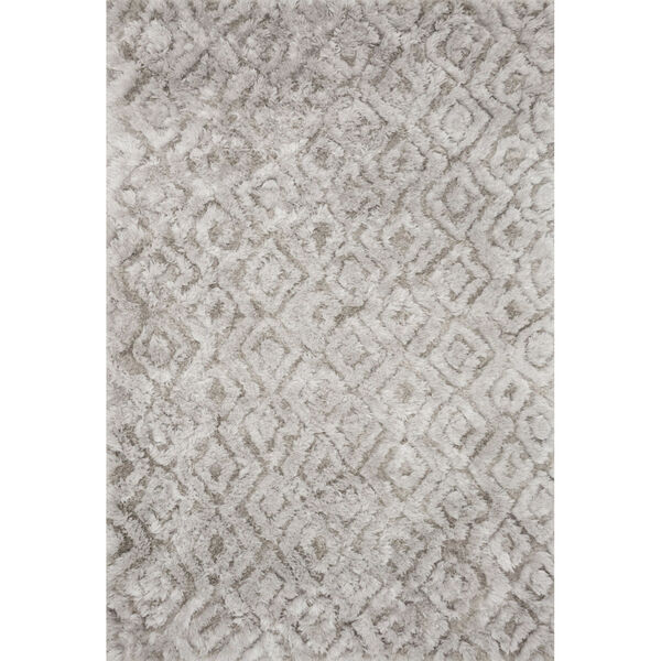 Caspia Silver Rectangle: 7 Ft. 6 In. x 9 Ft. 6 In. Rug, image 1