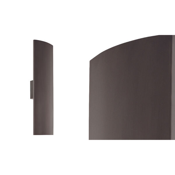 Pannelo Rubbed Bronze Two-Light Wall Sconce, image 2