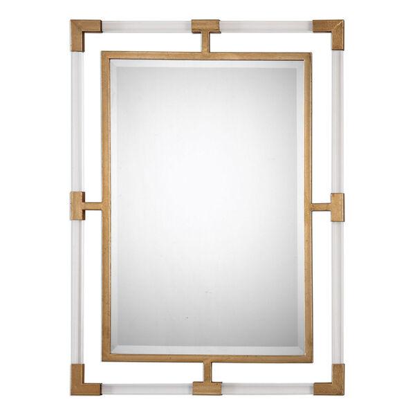 Balkan Modern Gold Wall Mirror, image 2