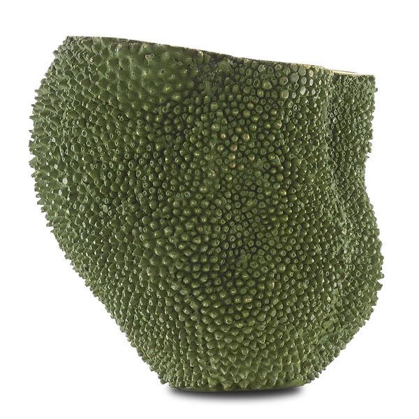 Green and Gold Medium Jackfruit Vase, image 2