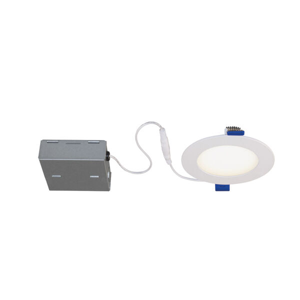 Matte White RGB LED Recessed Fixture Kit, image 2