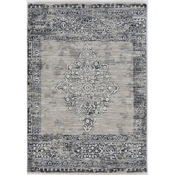Westerly Ria Sand and Charcoal Rectangular: 8 Ft. x 10 Ft. Area Rug, image 1