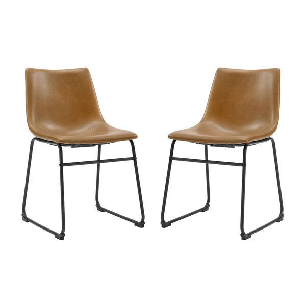 Whiskey Brown Dining Chair, set of 2, image 3