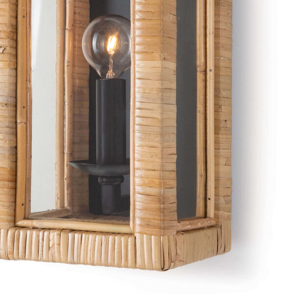 Newport Natural One-Light Wall Sconce, image 3