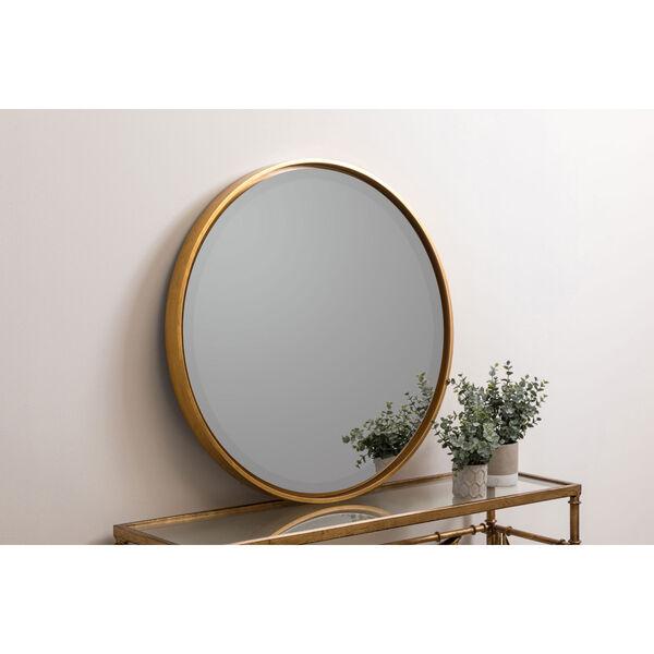 Wren Gold Round Mirror, image 1