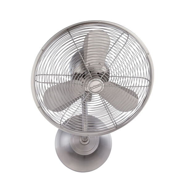 Bellows Stainless Steel 16-Inch Wall Mount Fan with Three Blades, image 1