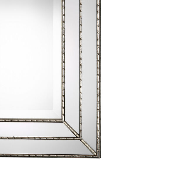 Whittier Rectangular Silver Mirror, image 4