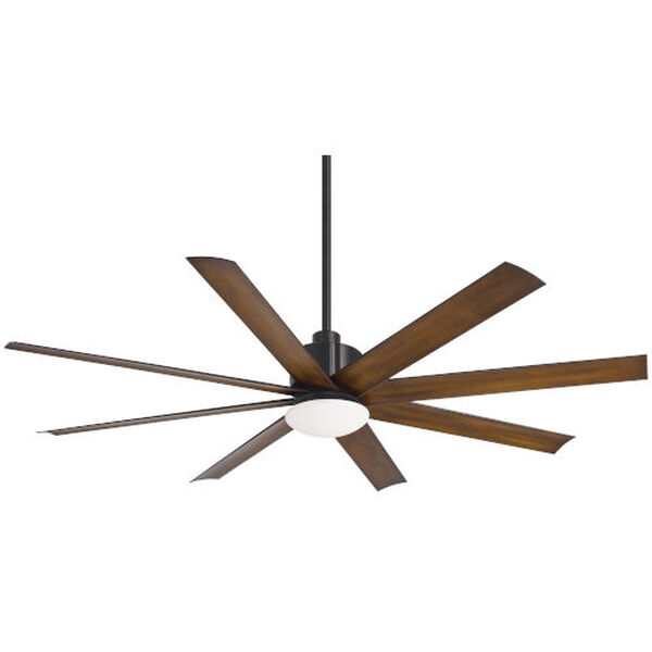 Slipstream Coal 65-Inch LED Indoor Outdoor Ceiling Fan, image 1