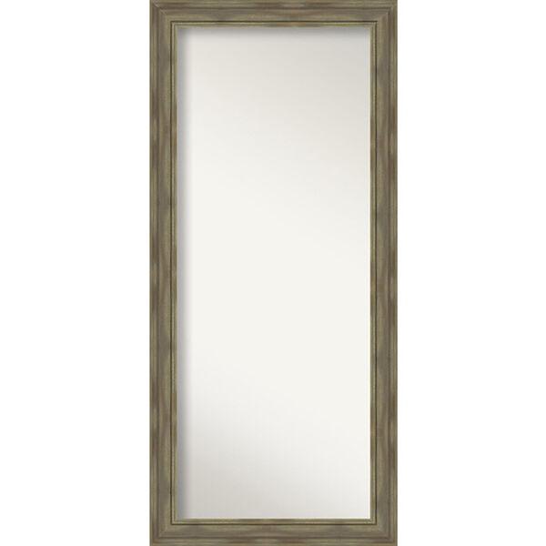 Alexandria Graywash 30-Inch Floor Mirror, image 1