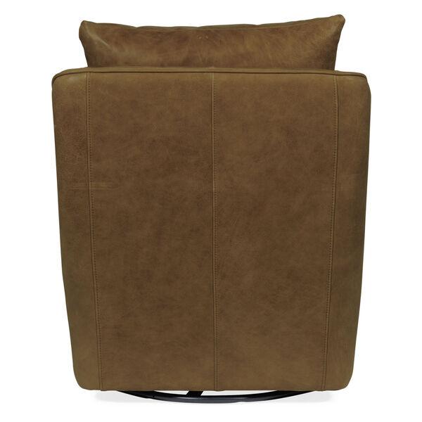 Coeval Brown Swivel Club Chair, image 2