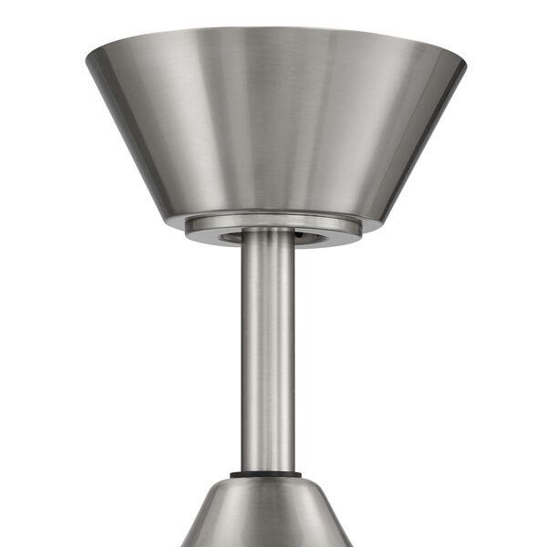 Captivate Brushed Polished Nickel 52-Inch Ceiling Fan, image 7