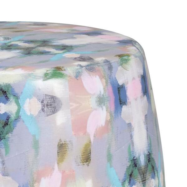 Multi-Colored 13-Inch Indigo Girl Garden Seat, image 2