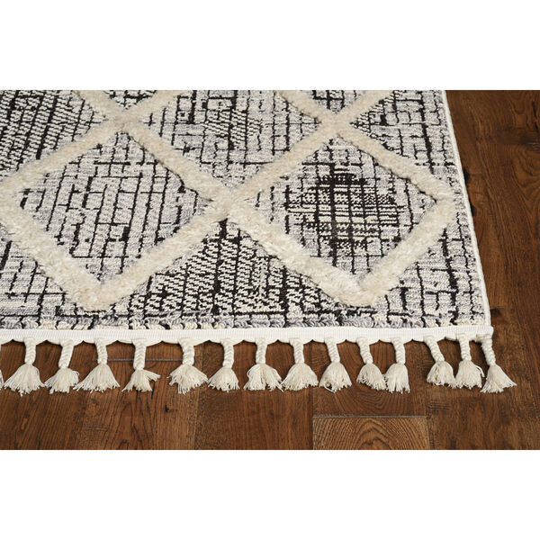 Willow Charcoal Rectangular: 3 Ft. 3 In. x 4 Ft. 11 In. Rug, image 2