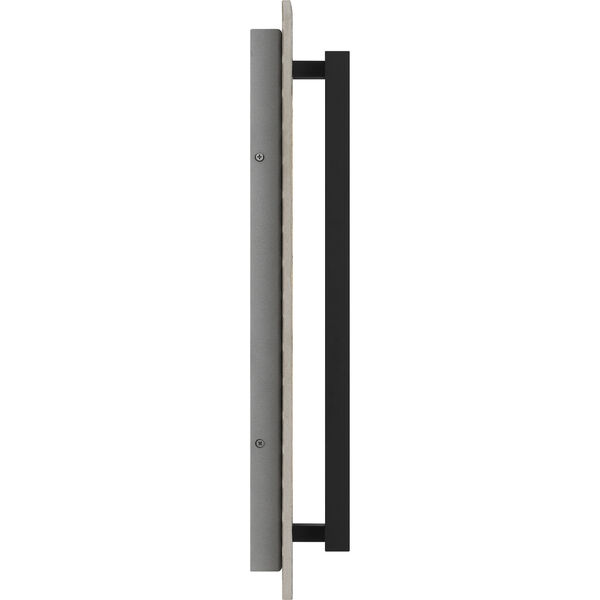 Tate Earth Black 22-Inch LED Outdoor Wall Mount, image 4